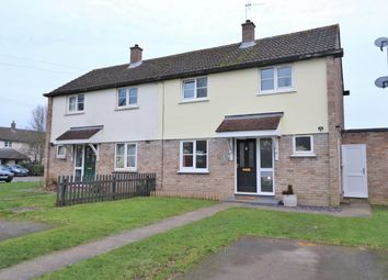 Thumbnail 2 bed semi-detached house for sale in Magdalene Close, Longstanton, Cambridge