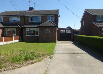 Thumbnail 3 bed semi-detached house to rent in Cressing Road, Braintree