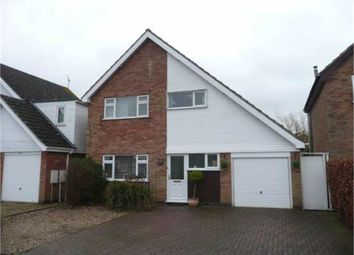 Thumbnail 3 bed detached house for sale in Greenacres Drive, Lutterworth, Leicestershire