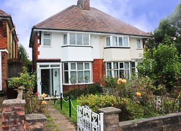 Thumbnail 2 bed semi-detached house to rent in Wentworth Road, Solihull, West Midlands