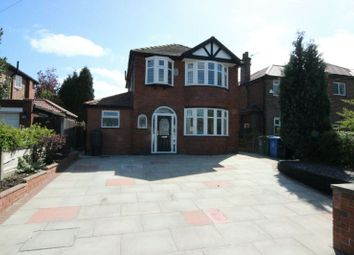 Thumbnail 3 bed detached house for sale in Woodhouse Lane, Sale