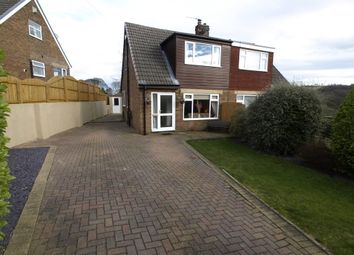 Thumbnail 3 bed semi-detached house for sale in Gilthwaites Crescent, Denby Dale, Huddersfield