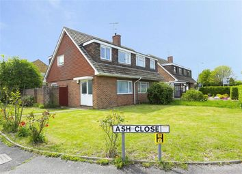 Thumbnail 3 bedroom semi-detached house for sale in Ash Close, Broadstairs, Kent