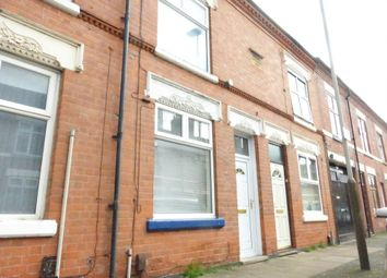 Thumbnail 3 bed terraced house to rent in Rydal Street, Leicester, Leicestershire