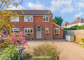 Thumbnail 3 bed semi-detached house for sale in Hyde Lane, St Albans, Herts
