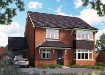 "Thumbnail 4 bed detached house for sale in ""The Canterbury"" at Campton Road, Shefford"