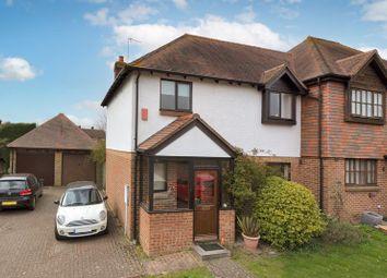Thumbnail 3 bed semi-detached house for sale in Morley Drive, Horsmonden, Tonbridge