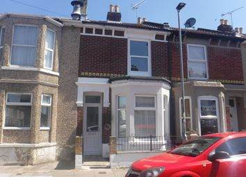 Thumbnail 3 bed terraced house to rent in Widley Road, Portsmouth