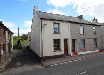 Thumbnail 3 bed semi-detached house for sale in Trecastle, Brecon