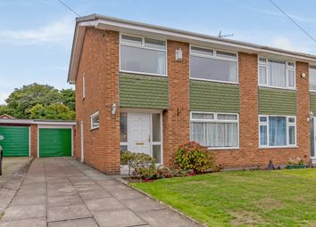 Thumbnail 3 bed semi-detached house for sale in Gwendoline Close, Wirral, Merseyside