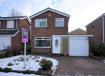 Thumbnail 3 bed detached house for sale in Acomb Avenue, Wallsend