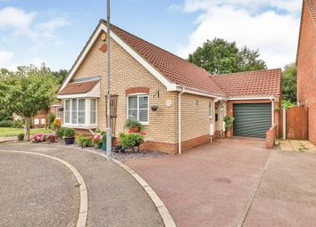 Thumbnail 3 bed detached bungalow for sale in Peacock Chase, Wymondham