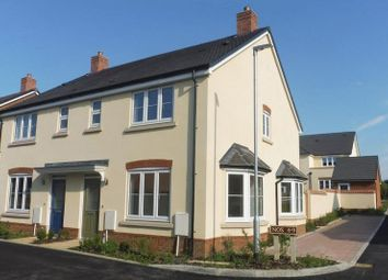 Thumbnail 3 bed semi-detached house for sale in Wirethorn Furlong, Haddenham, Aylesbury