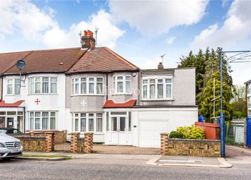 Thumbnail 3 bed end terrace house for sale in Hedge Lane, London