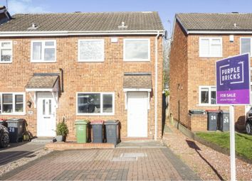 Thumbnail 2 bed end terrace house for sale in Augustus Close, Birmingham