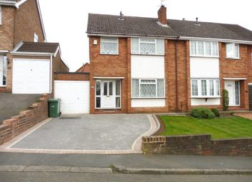 Thumbnail 3 bedroom semi-detached house for sale in The Straits, Dudley