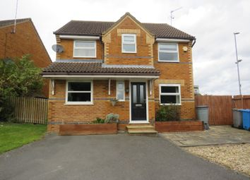 Thumbnail 4 bed detached house for sale in Gunnell Close, Kettering