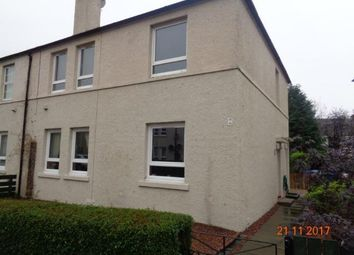 Thumbnail 1 bed flat to rent in Garvally Crescent, Alloa
