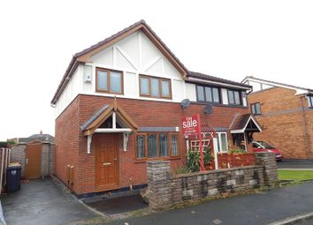 Thumbnail 3 bed semi-detached house for sale in Dovedale Close, Ingol, Preston