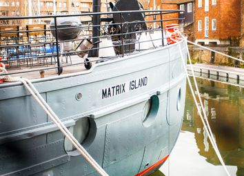 Thumbnail 5 bed houseboat for sale in St Katherine's, London