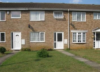 Thumbnail 3 bed terraced house to rent in Reynard Way, Kingsthorpe, Northampton