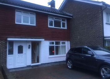 Thumbnail 3 bed terraced house to rent in Boswell Road, Crawley