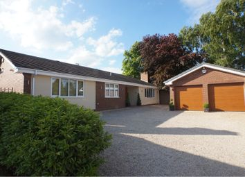 Thumbnail 4 bed detached bungalow for sale in Wentworth Drive, Lichfield