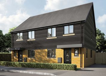 "Thumbnail 3 bed semi-detached house for sale in ""The Eveleigh"" at Warfield, Bracknell"