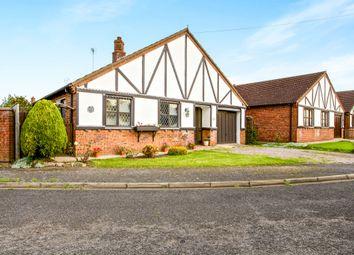Thumbnail 3 bed detached bungalow for sale in Carlton Close, Leverington, Wisbech