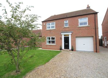 Thumbnail 4 bed detached house for sale in Meadow View, Eggborough, Goole