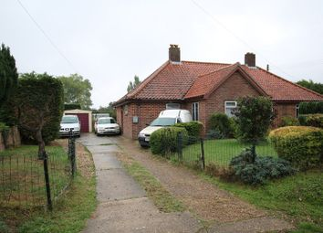 Thumbnail 2 bed semi-detached bungalow for sale in Rectory Road, Rockland All Saints, Attleborough