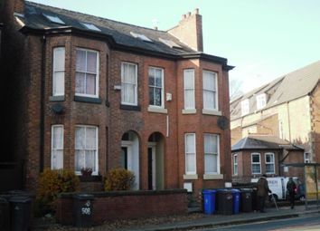 Thumbnail 8 bed end terrace house to rent in Wilmslow Road, Didsbury, Manchester