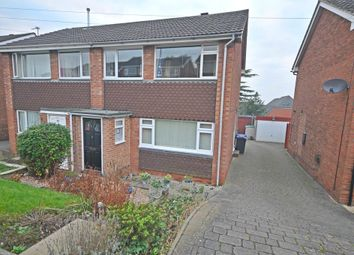 Thumbnail 3 bed semi-detached house for sale in Ridgeway Road, Stapenhill, Burton-On-Trent