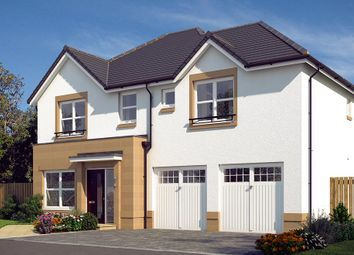 "Thumbnail 4 bed detached house for sale in ""The Westbury"" at Edinburgh Road, Newhouse, Motherwell"