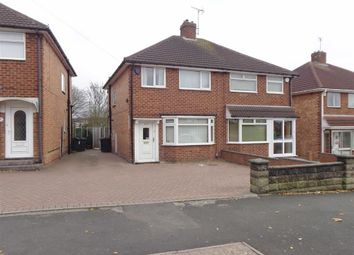 Thumbnail 3 bed semi-detached house for sale in Chaffcombe Road, Sheldon, Birmingham