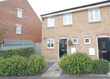 Thumbnail 2 bed semi-detached house for sale in The Gables, Bourne