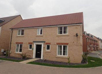 Thumbnail 4 bed property to rent in Alderney Avenue, Newton Leys, Bletchley, Milton Keynes