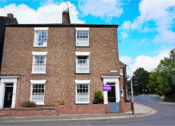 Thumbnail 4 bedroom end terrace house for sale in New Road, Driffield