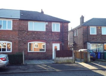 Thumbnail 3 bedroom semi-detached house for sale in Amos Avenue, Manchester, Greater Manchester