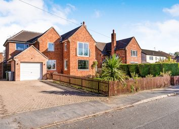 Thumbnail 4 bed detached house for sale in Burton On The Wolds, Loughborough, Leicestershire