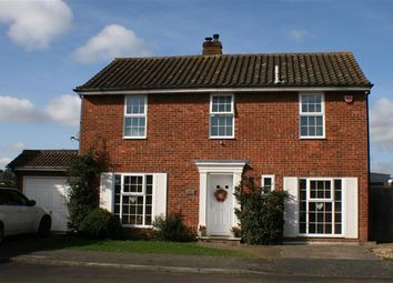 Thumbnail 4 bed detached house for sale in Webb Close, Folkestone