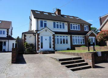 Thumbnail 4 bed semi-detached house for sale in Hilfield Lane, Aldenham