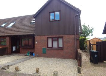 Thumbnail 1 bed end terrace house to rent in White Ash Glade, Caerleon, Newport
