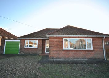 Thumbnail 2 bed bungalow for sale in Heath Crescent, Hellesdon, Norwich