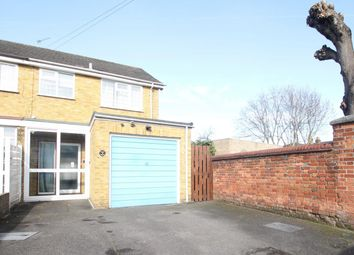 Thumbnail 3 bedroom semi-detached house to rent in Victory Road, Chertsey