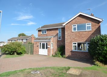 Thumbnail 4 bed detached house for sale in Tay Close, Oakham