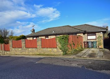 Thumbnail 3 bed detached bungalow for sale in Naseby Rise, Queensbury, Bradford