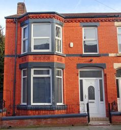 Thumbnail 4 bed end terrace house for sale in Sunbury Road, Anfield, Liverpool