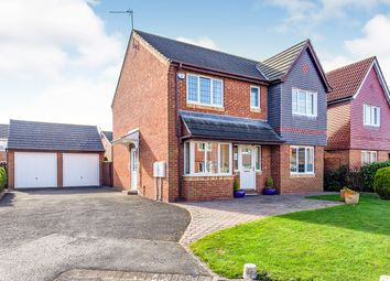 Thumbnail 4 bed detached house for sale in Gunnerton Close, Faverdale, Darlington, Durham
