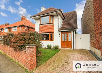 Thumbnail 3 bed detached house for sale in Grove Road, Beccles